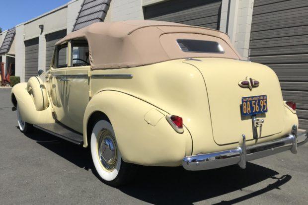 1939 Buick Roadmaster Phaeton Convertible 81-C 3