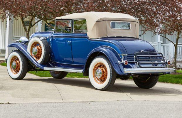 1932 Buick Model 98 Convertible Phaeton 3