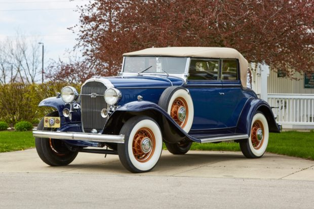 1932 Buick Model 98 Convertible Phaeton 4