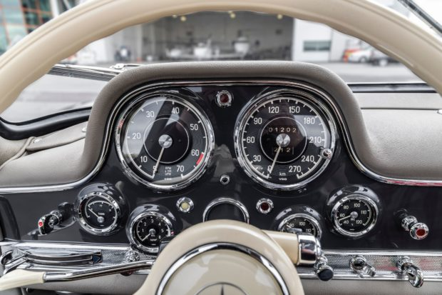 1956 Mercedes-Benz 300SL Gullwing 8