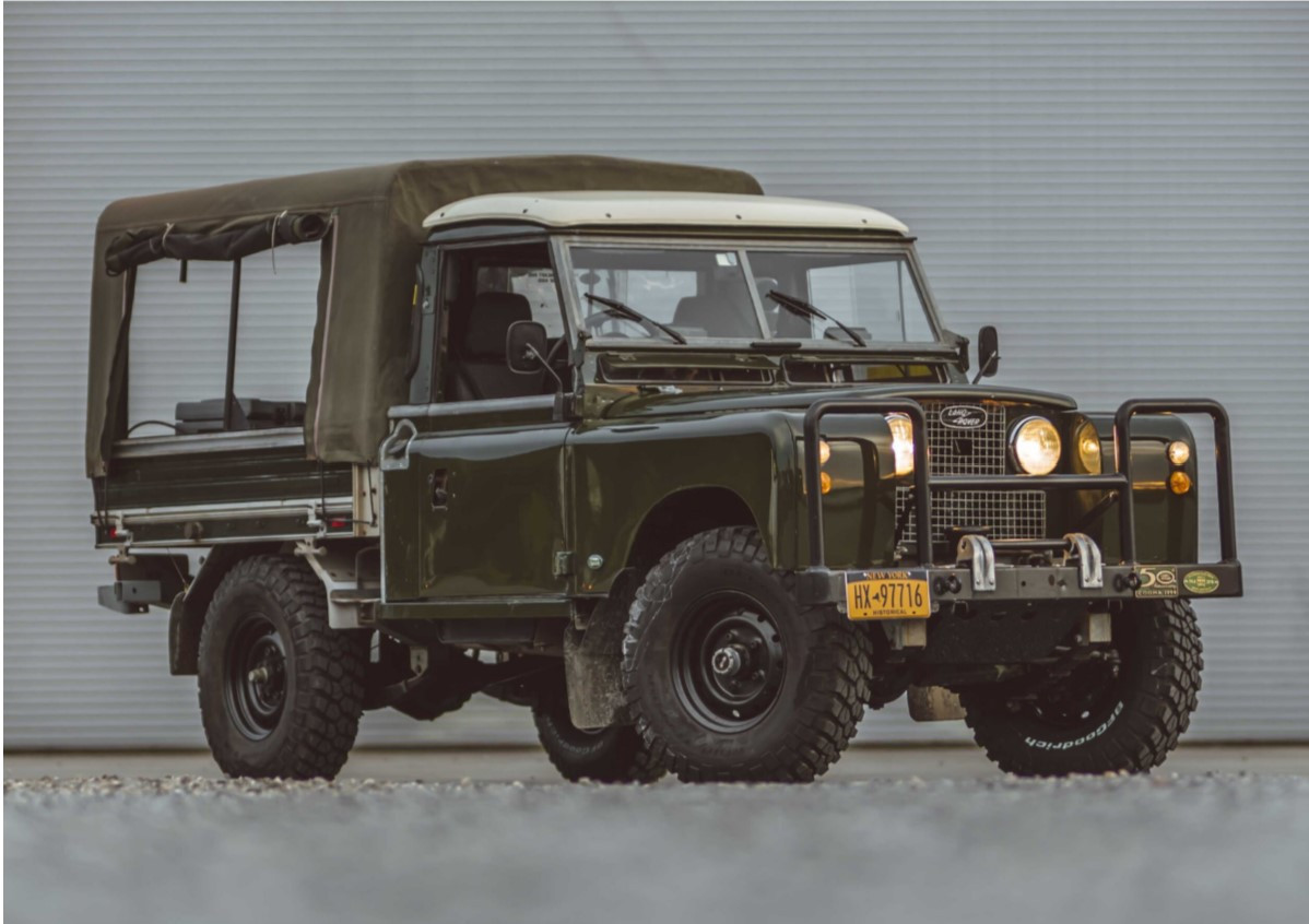 1958 Land Rover 109 Series II 4×4 9