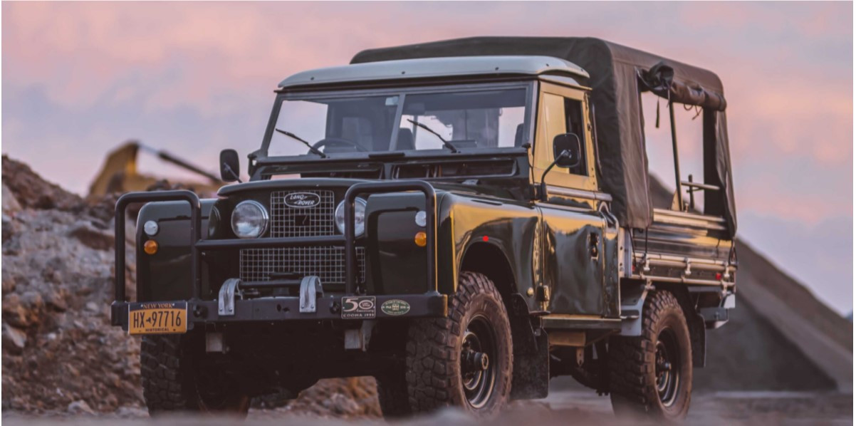 1958 Land Rover 109 Series II 4×4 7