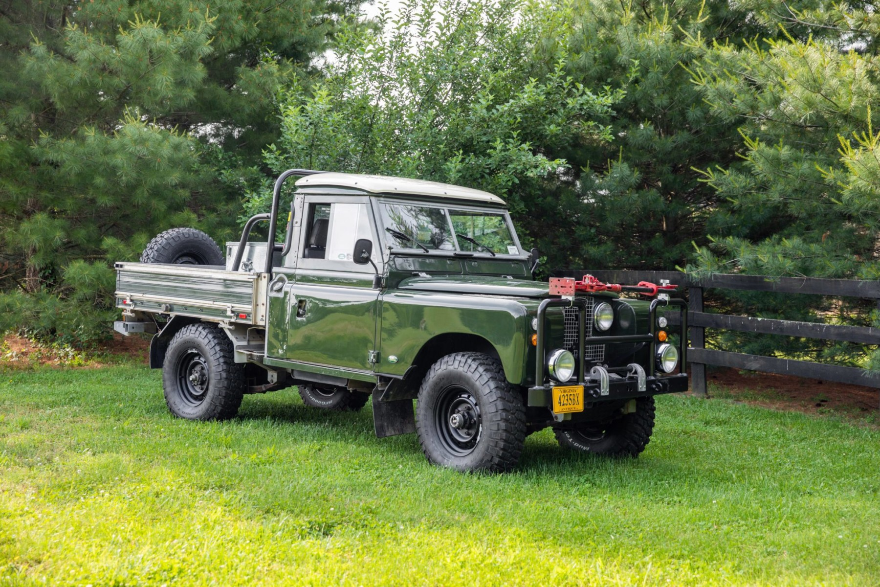 1958 Land Rover 109 Series II 4×4 10