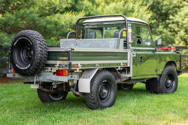 1958 Land Rover 109 Series II 4×4 2