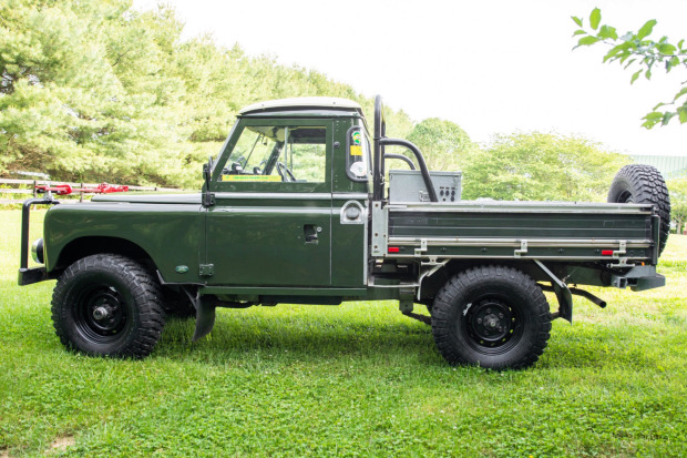 1958 Land Rover 109 Series II 4×4 3