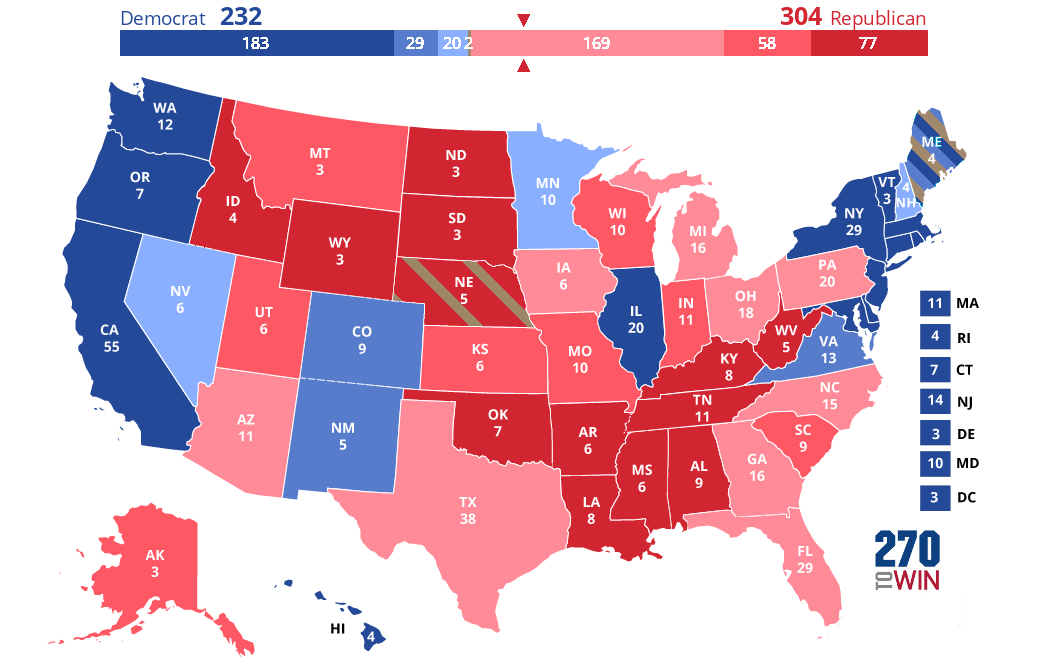 2020 Presidential Election Interactive Map 6