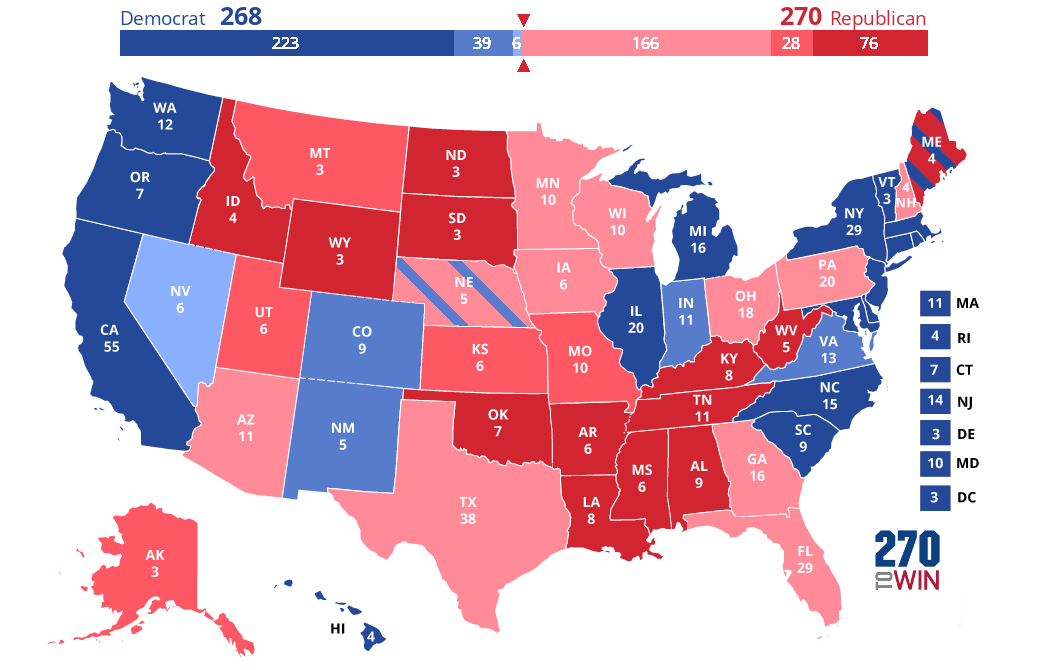 2020 Presidential Election Interactive Map 4