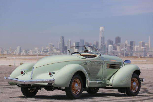 1935 Auburn 851 SC Boattail Speedster 3