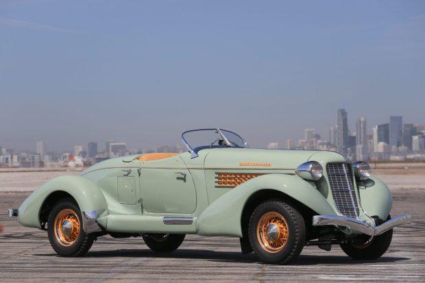 1935 Auburn 851 SC Boattail Speedster 4