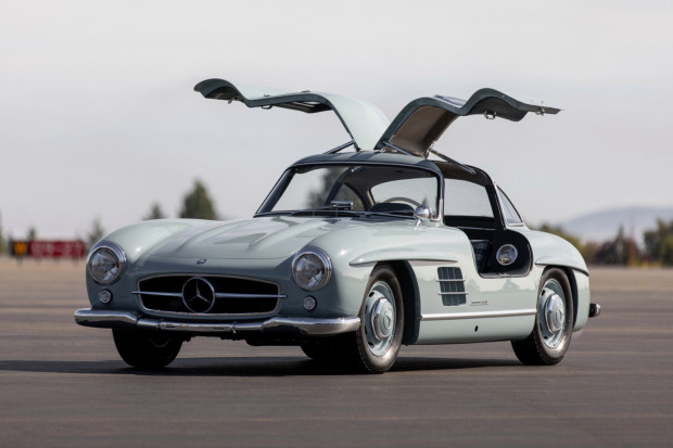 1957 Mercedes-Benz 300SL Gullwing 3