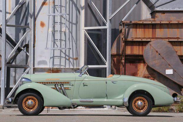 1935 Auburn 851 SC Boattail Speedster 5