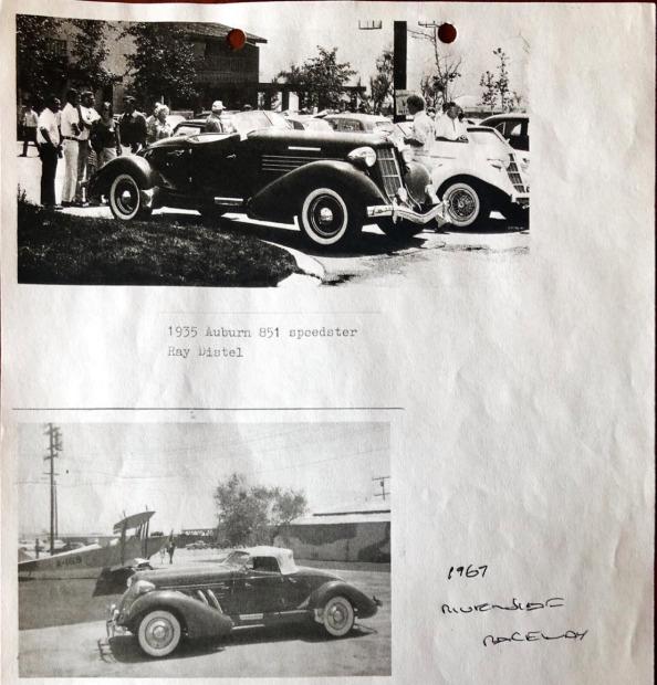 1935 Auburn 851 SC Boattail Speedster 10