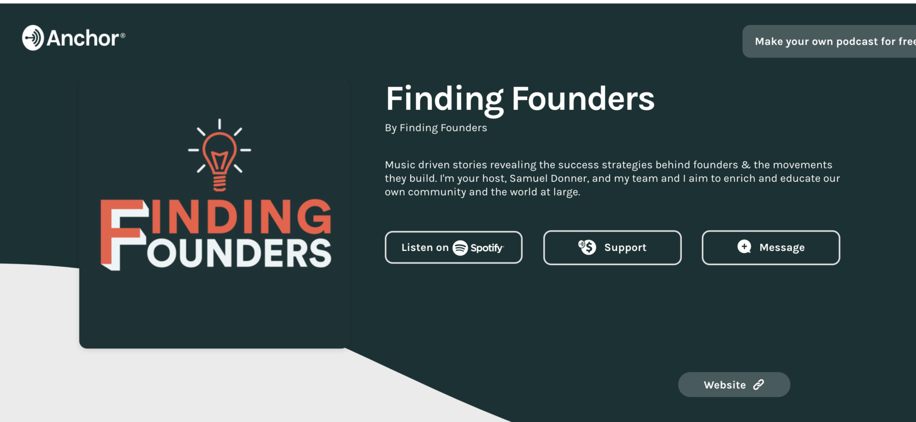 Finding Founders: No Emotions, All Data 1