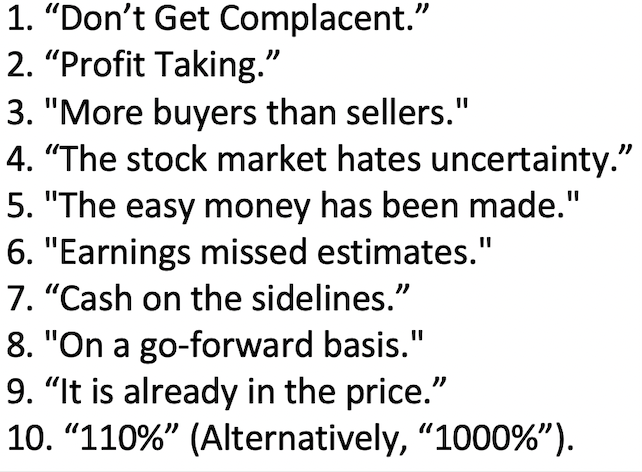BBRG: The 10 Most Useless Phrases in Financial Markets 2