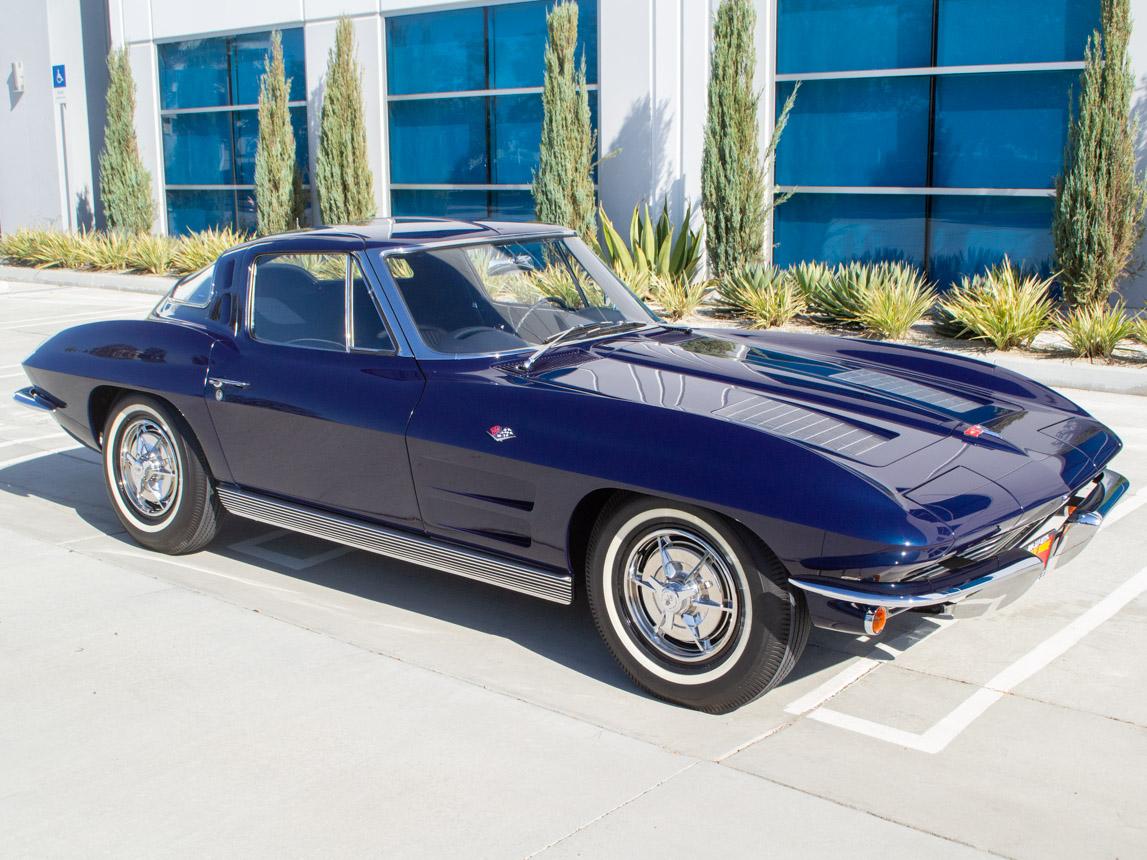 1963 Corvette Stingray Split Window Coupe 6