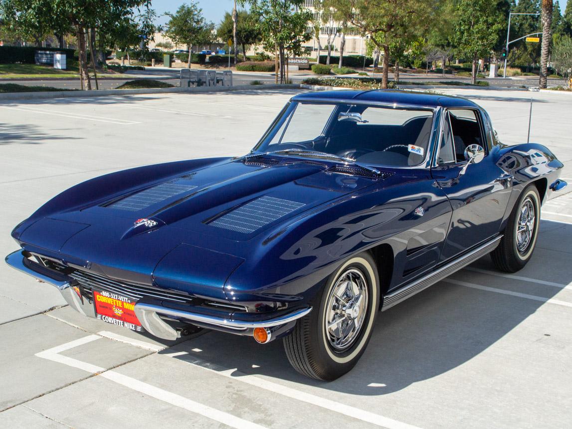 1963 Corvette Stingray Split Window Coupe 8