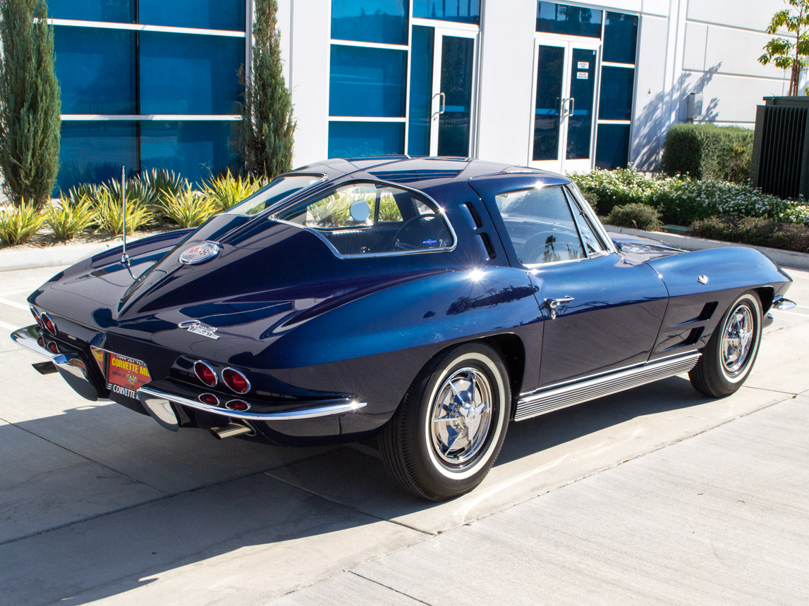 1963 Corvette Stingray Split Window Coupe 2