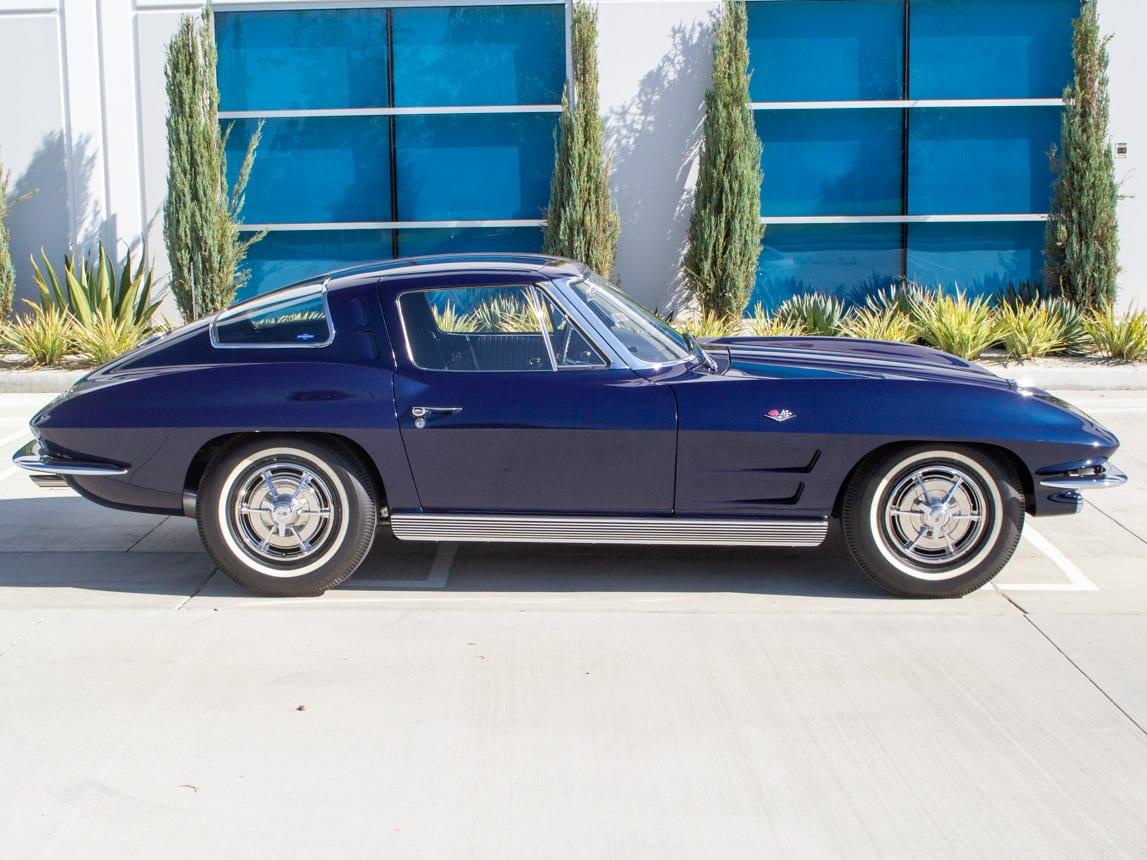 1963 Corvette Stingray Split Window Coupe 10