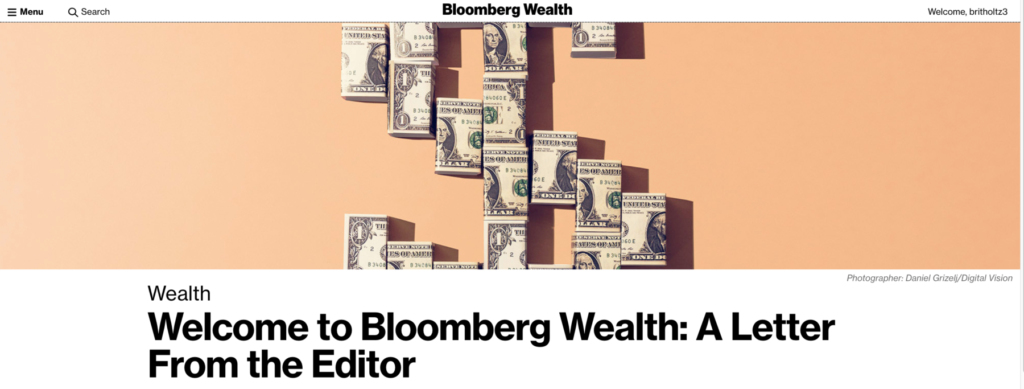 Introducing Bloomberg Wealth 2