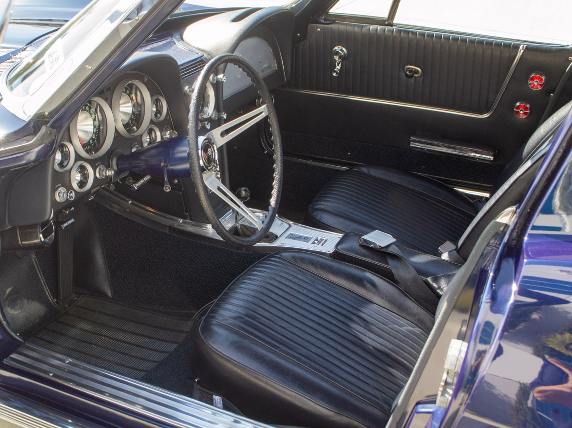 1963 Corvette Stingray Split Window Coupe 11