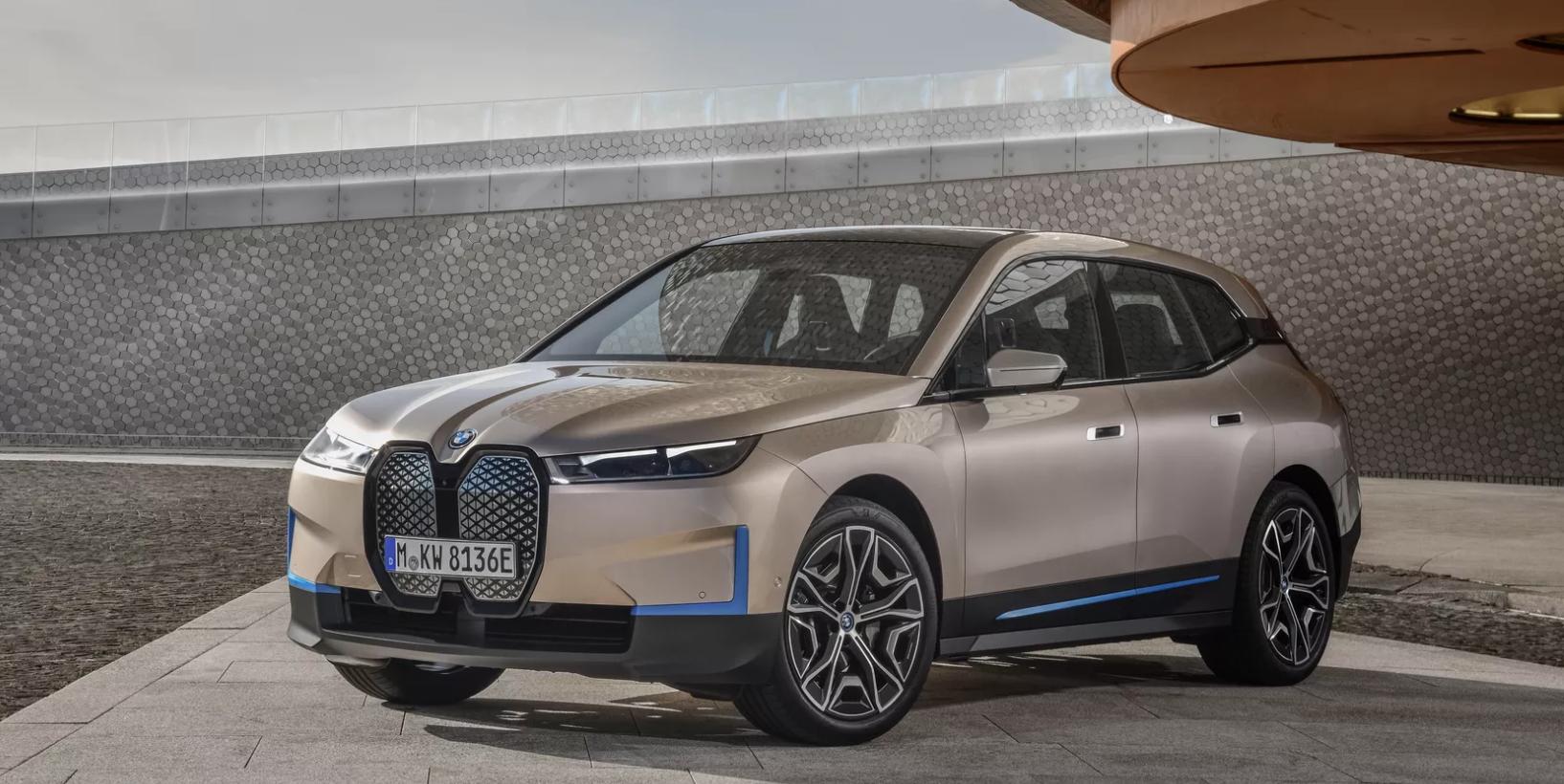 BMW iX All Electric SUV 2