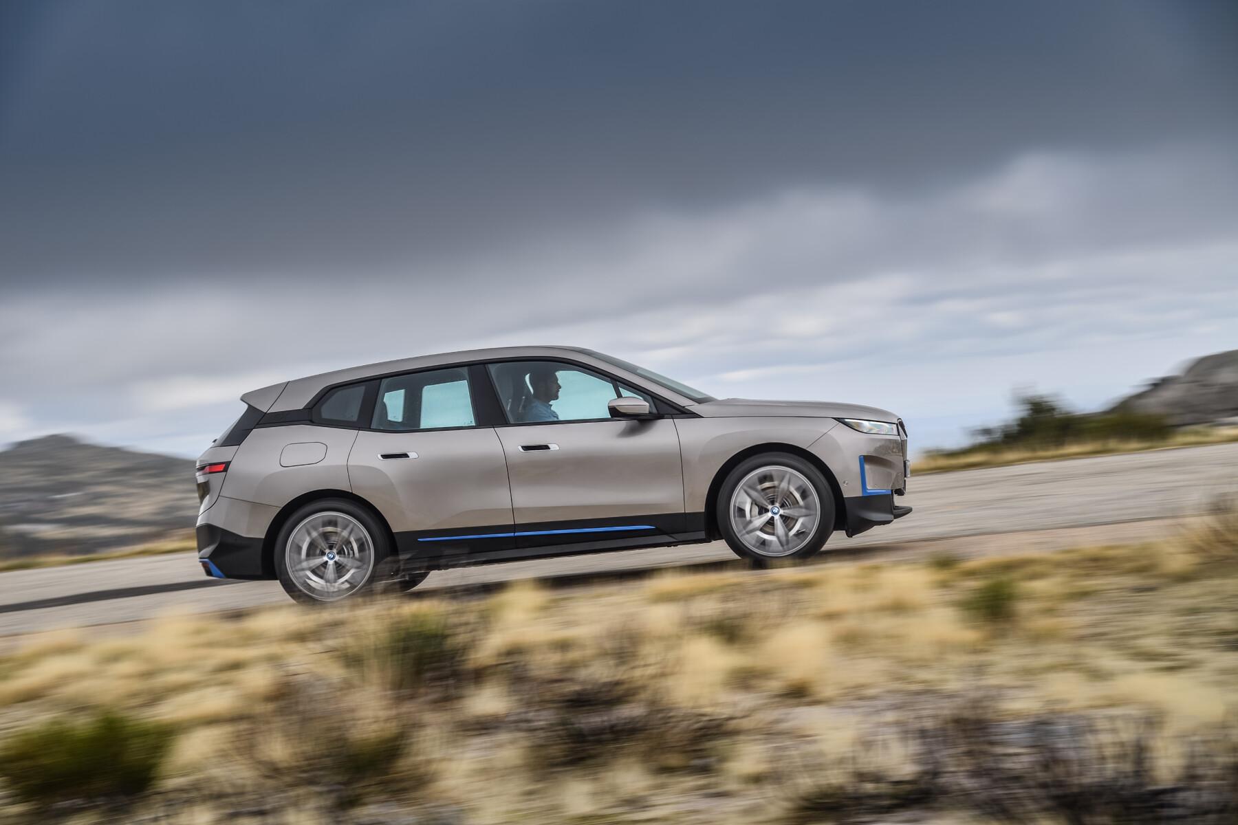 BMW iX All Electric SUV 4