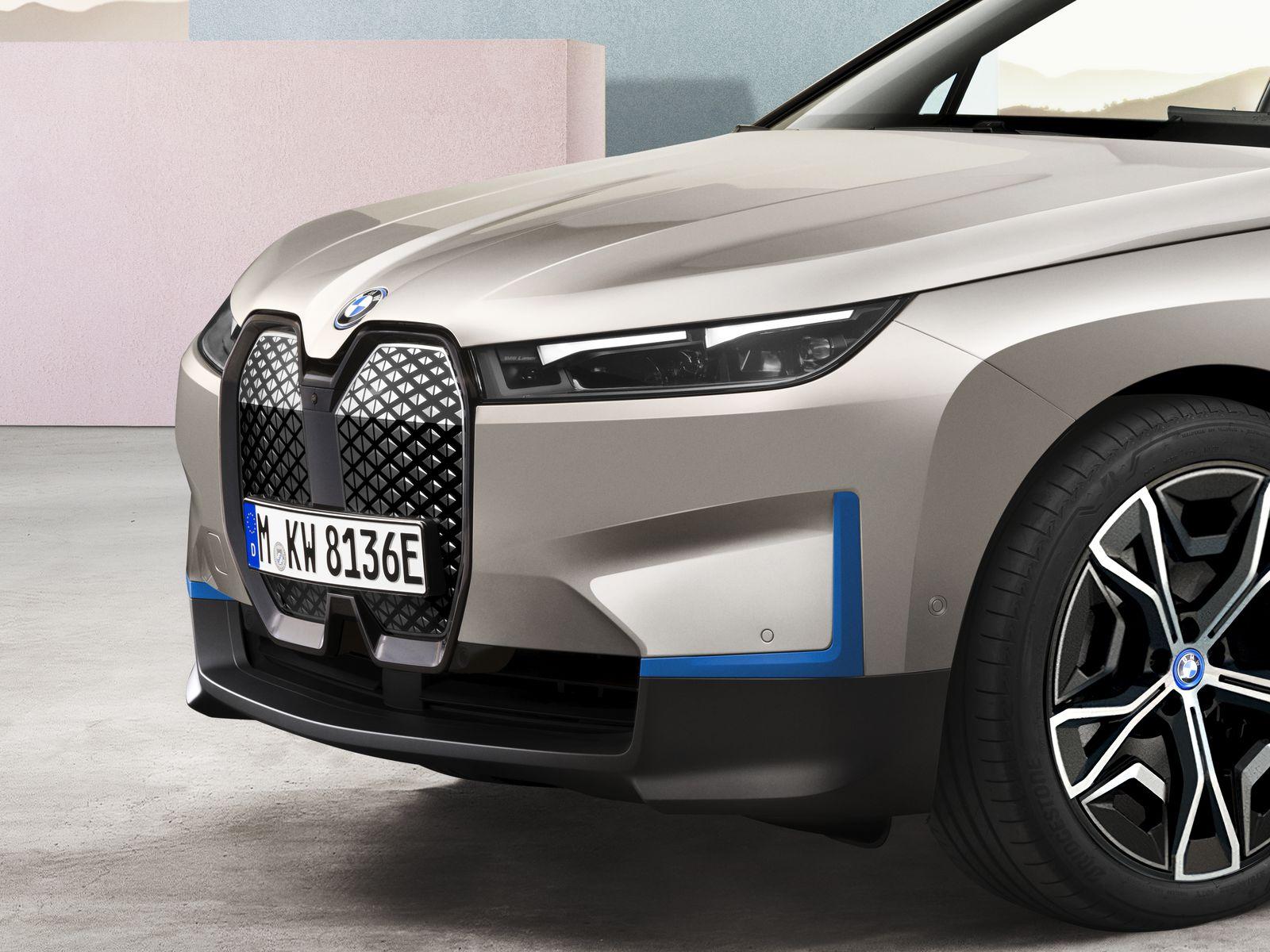 BMW iX All Electric SUV 5