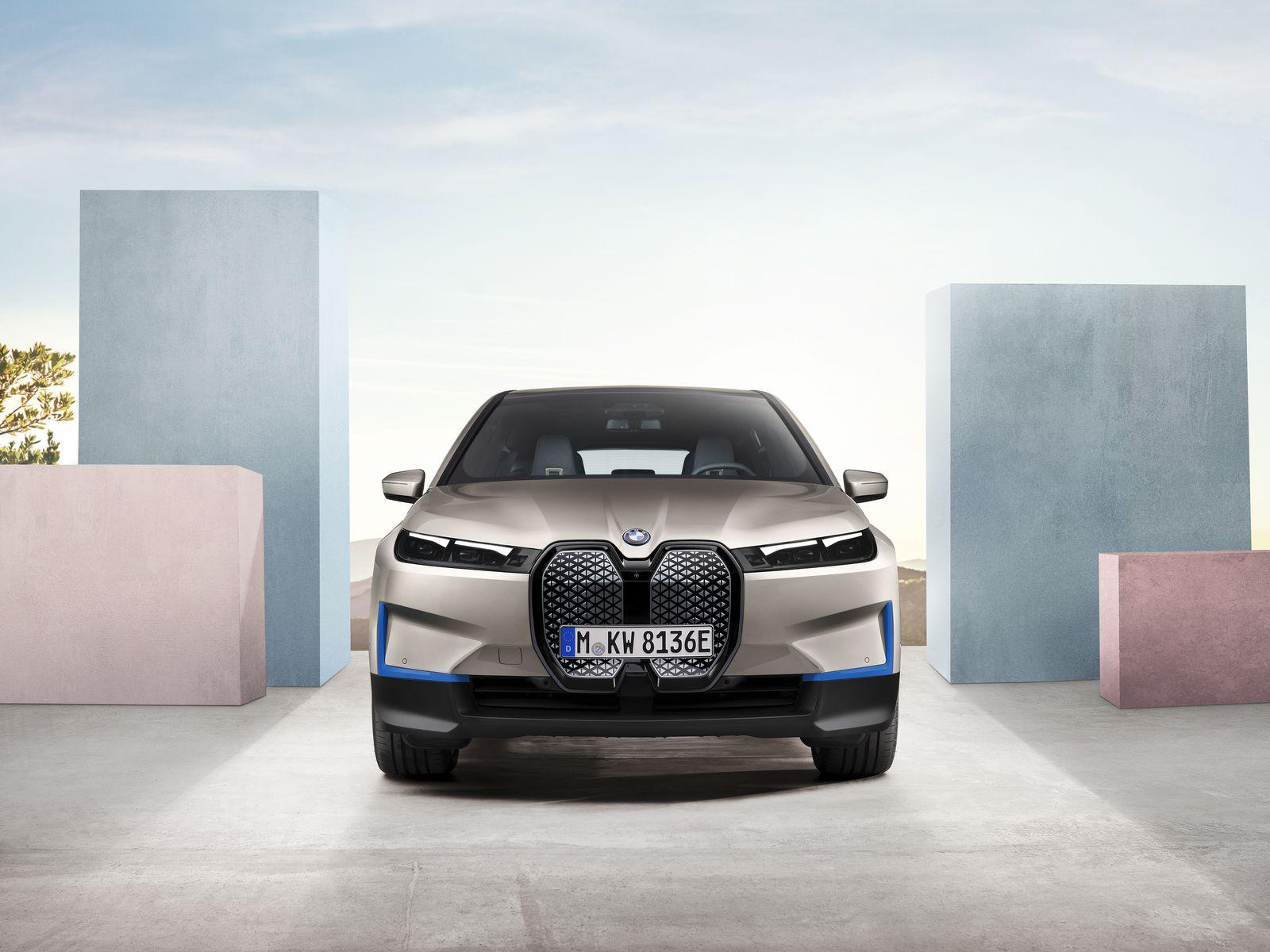 BMW iX All Electric SUV 7