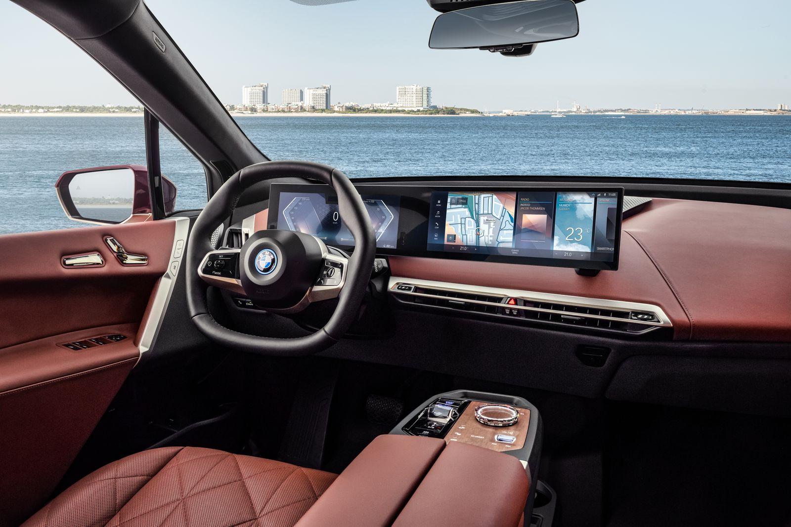 BMW iX All Electric SUV 9