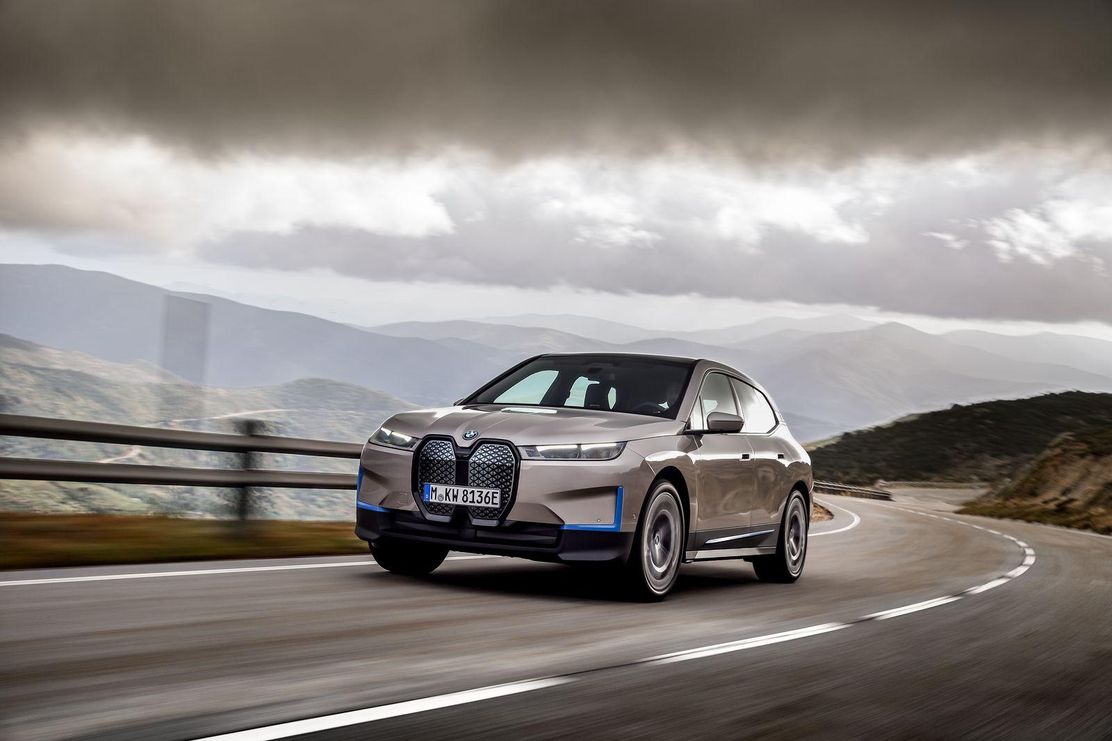 BMW iX All Electric SUV 10