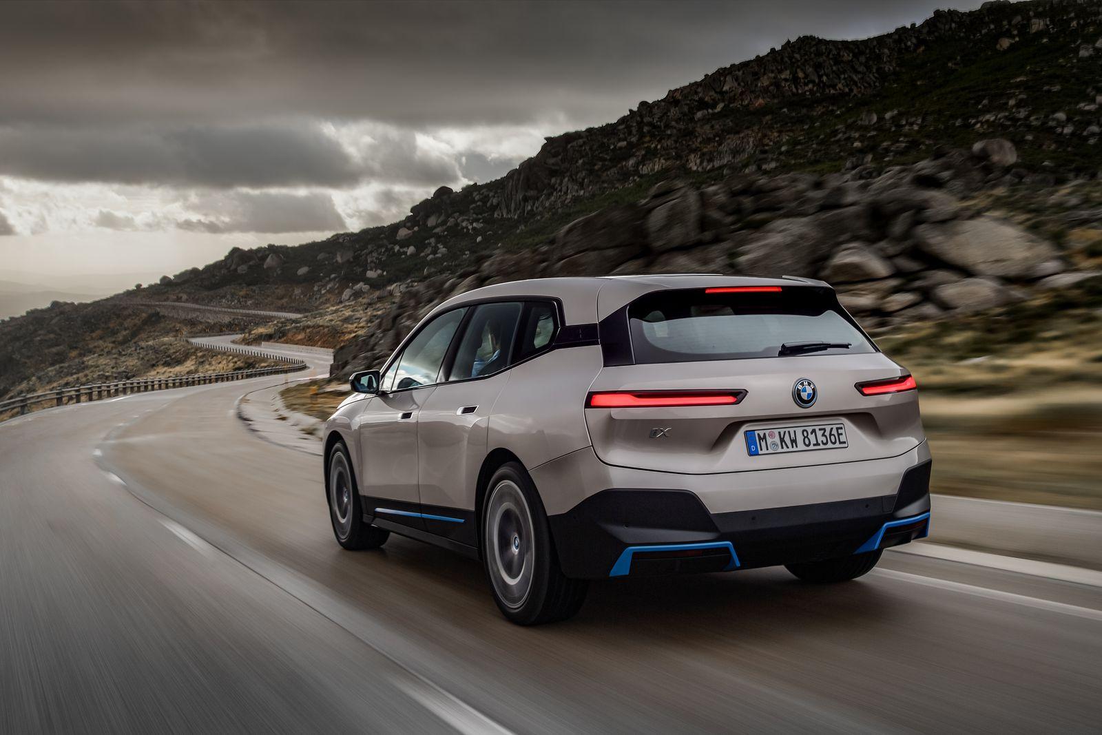 BMW iX All Electric SUV 11