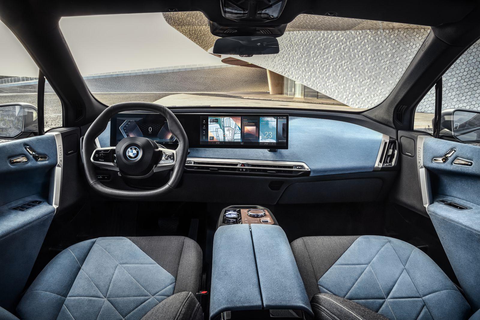 BMW iX All Electric SUV 12