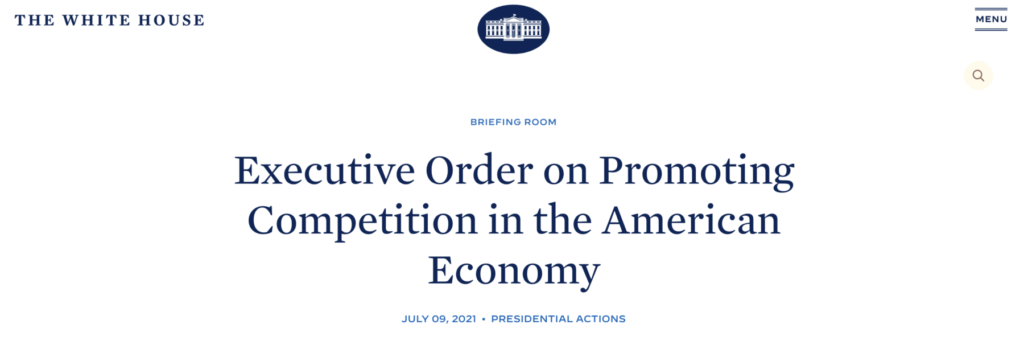 Attention Investors: The President's Council on Competition